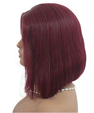 Brazilian Straight Bob (Cherry Red)