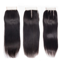 Straight Closure (Brazilian Virgin Hair)