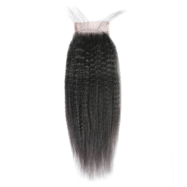 Yaki Straight Closure (Peruvian Virgin Hair)