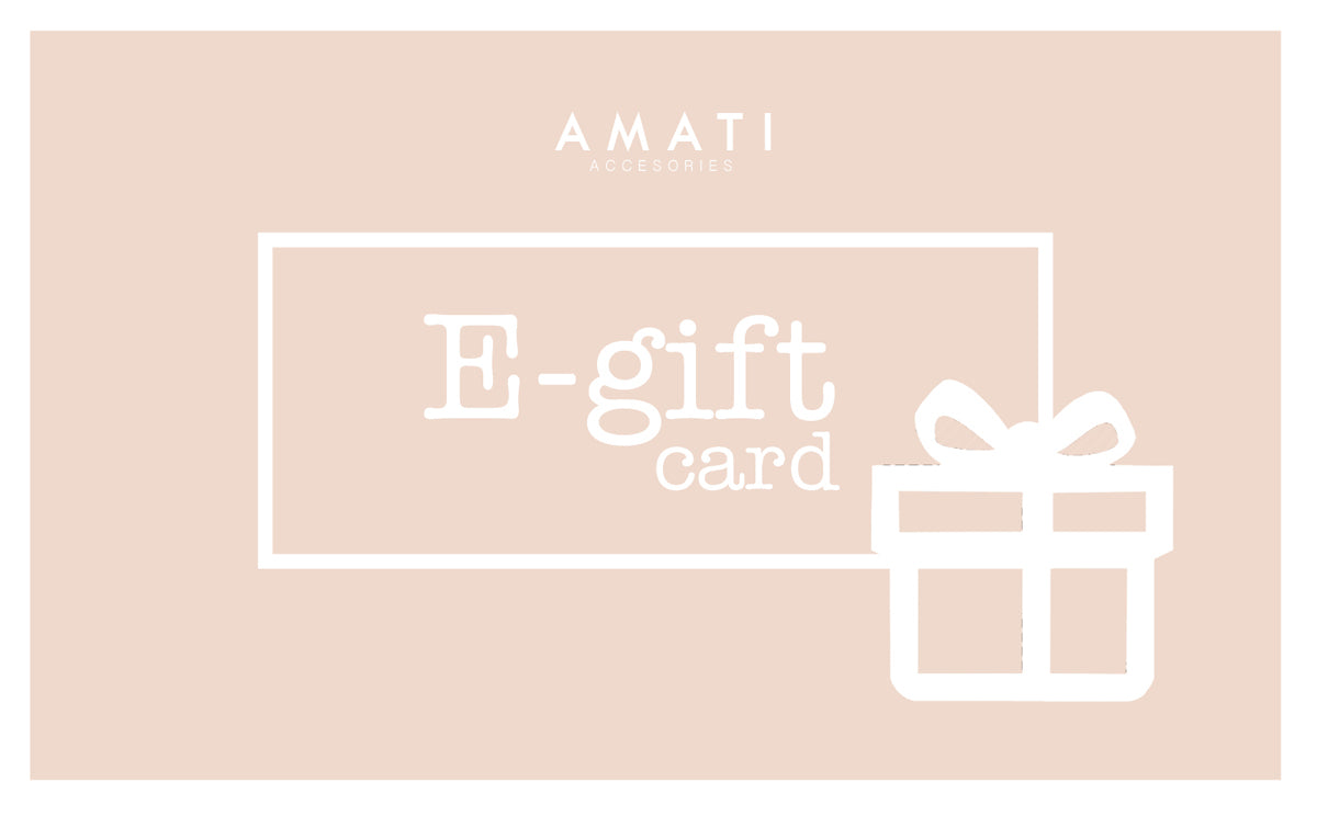 AMATI E-GIFT CARD Select Amount