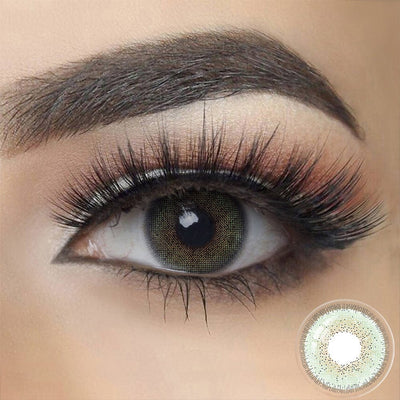[US Warehouse]Natural Esmeralda Green Colored Contact Lenses