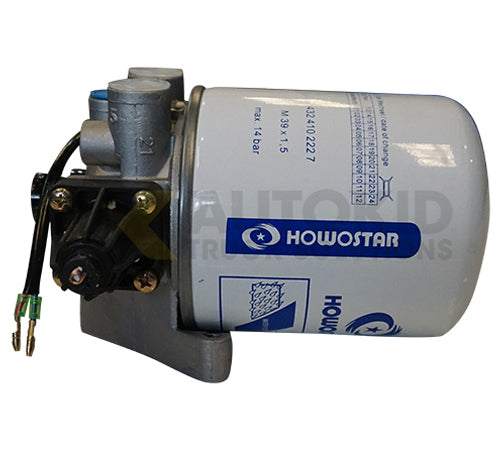 HOWO A7 AIR DRYER ASSEMBLY |  WG9000360521