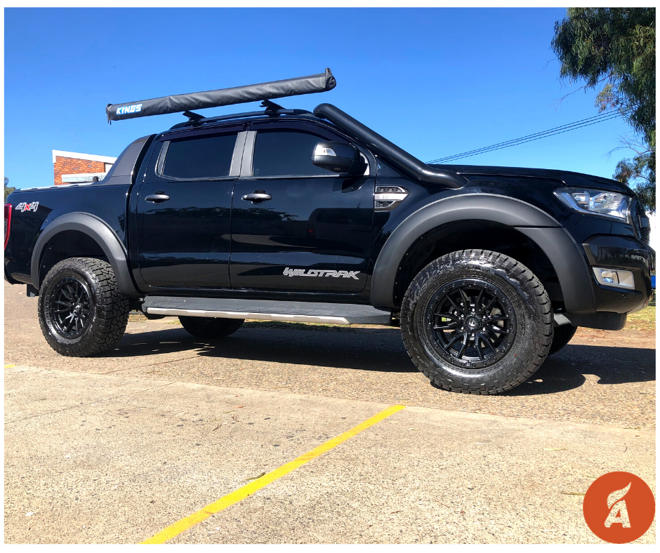 Ford Ranger PX3 OEM Style Wheel Arch Flares