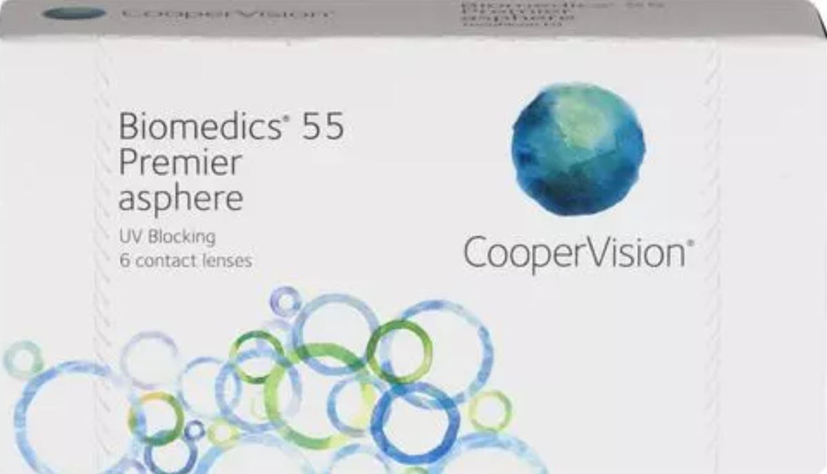 CooperVision Biomedics 55 Evolution Asphere - 6 lenses