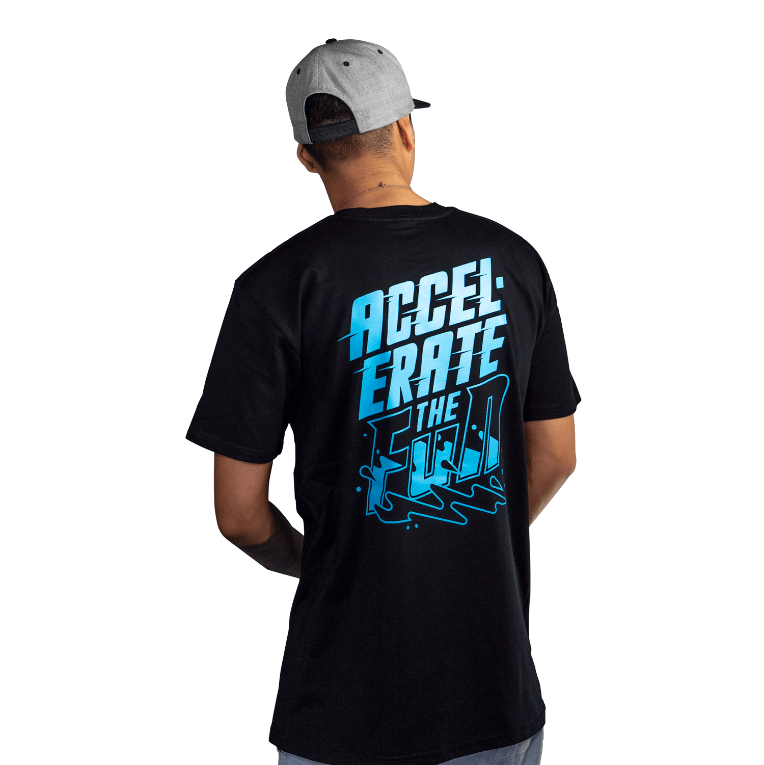 Black/Blue Accelerate Short Sleeve T-Shirt
