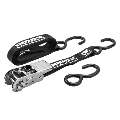 Triple Hook PWC Tie-Down Ratchet Strap