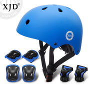 Kids Bike Helmet And Protective Gear 7pcs | XJD BABY