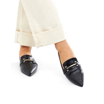 Women Business Pointed Flat Shoe