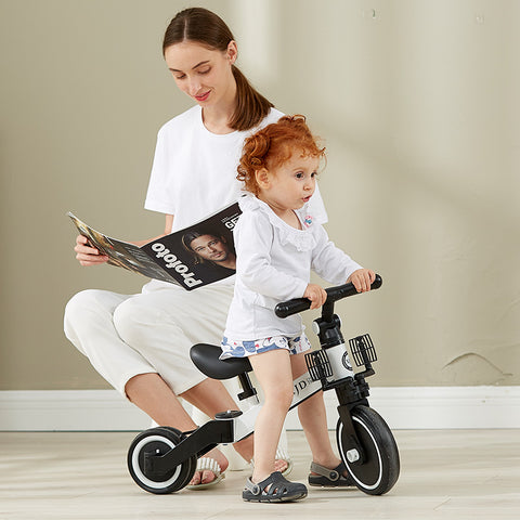 3-in-1 Kids Tricycle With Adjustable Seat | XJD BABY