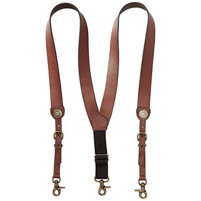 Men Leather Suspender