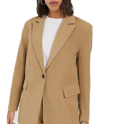 Women Blazer In Beige