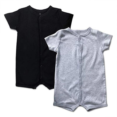 Cotton Baby Layettes Rompers (2pcs)