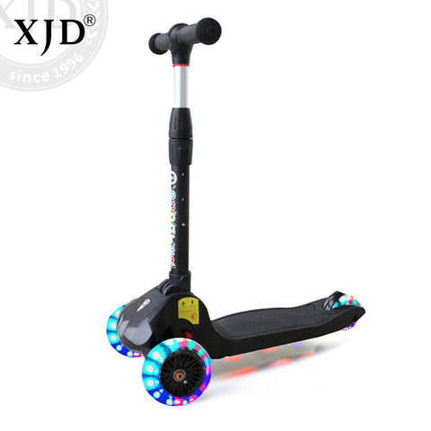 Kids 3-Wheel Scooter With Flashing Wheels | XJD BABY