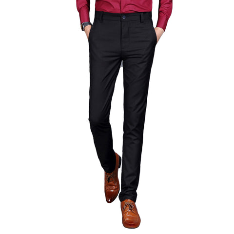 Men Business Formal Trousers