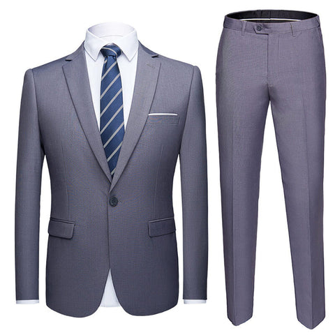 Male Slim Business Suit
