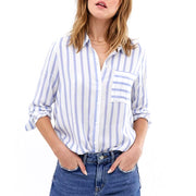 Stripe Shirt With Pocket