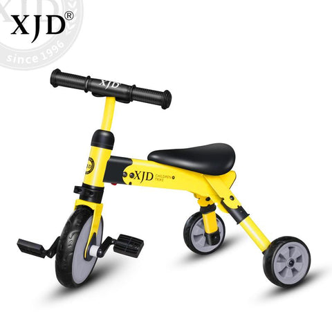 2-in-1 Baby Tricycle With Removable Pedals| XJD BABY