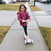 Kids Kick Scooter With LED Flashing Wheels | XJD BABY
