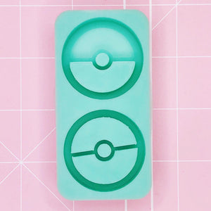 BF2020 -Duo Grippie Mold - Pokeball Duo [Backed Grippies]