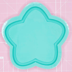 Tray Mold: Chubby Star Tray - [Backed]