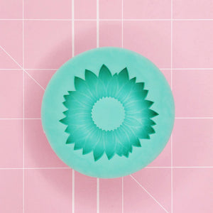 Round Mold - Sunflower (Backed Grippie) - Chala Atelier & Supplies