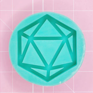 Round Mold - D20 v2 (Backed Shaker) - Chala Atelier & Supplies
