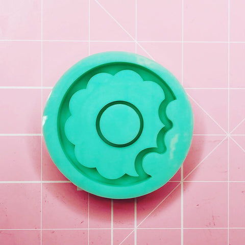 Round Mold - Bitten Frosted Donut (Backed Shaker) - Chala Atelier & Supplies