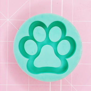 Round Mold - Paw Shaker (Backed) - Chala Atelier & Supplies