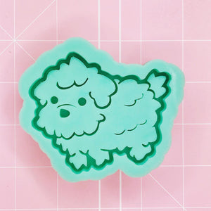 Doggo Mold - Fluffy Puppy (Backed) - Chala Atelier & Supplies