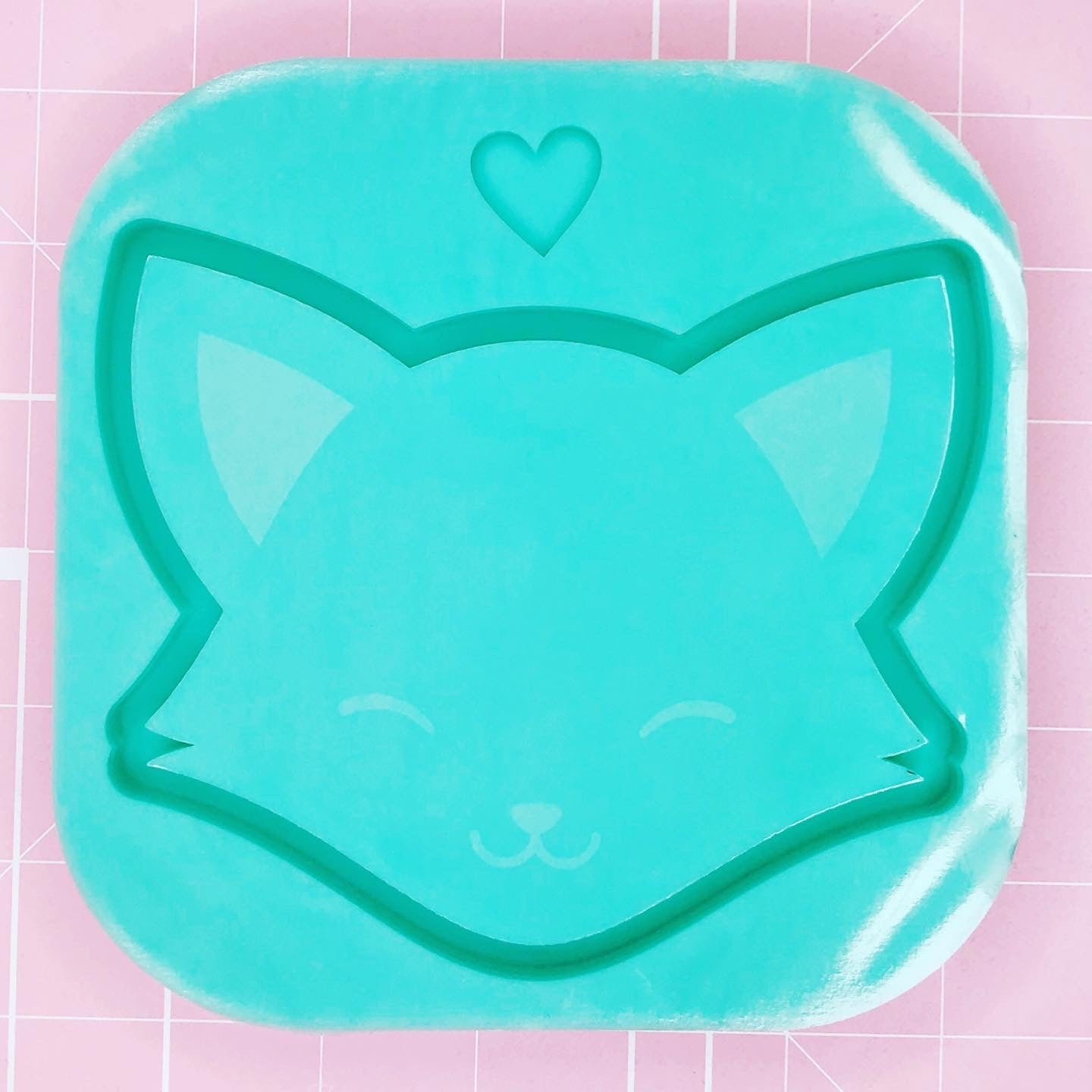 Tray Mold - Fox Head Tray (Backed) - Chala Atelier & Supplies