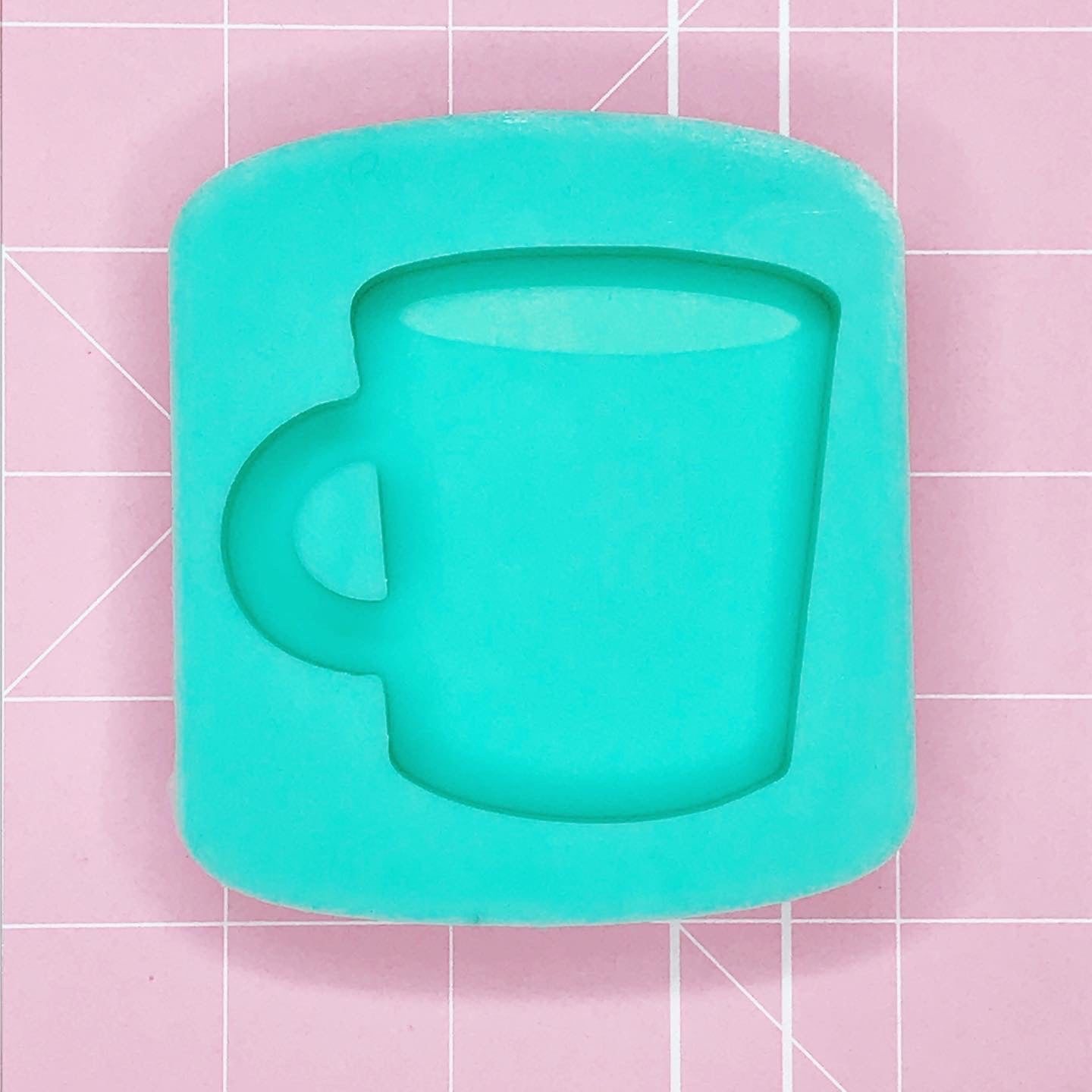 Single Cavity Mold: Coffee / Cocoa Mug [Etched / Solid]