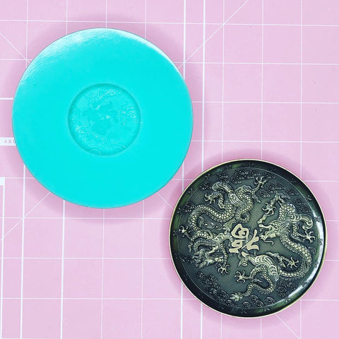 Tray Mold: Good Luck Dragon Dish / Tray