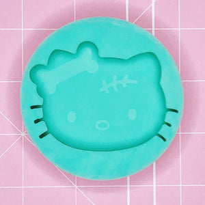 Single Cavity Mold - Goodbye Kitty [Etched / Solid]