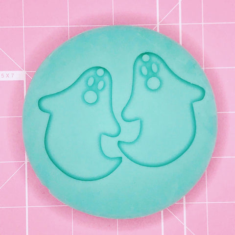 Earring Mold: Ghostie Earrings [Solid]