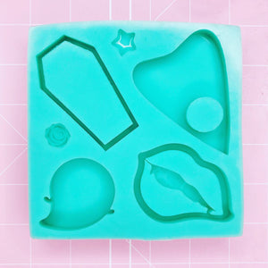 Large Square Mold - Spooky Palette v2 - Chala Atelier & Supplies
