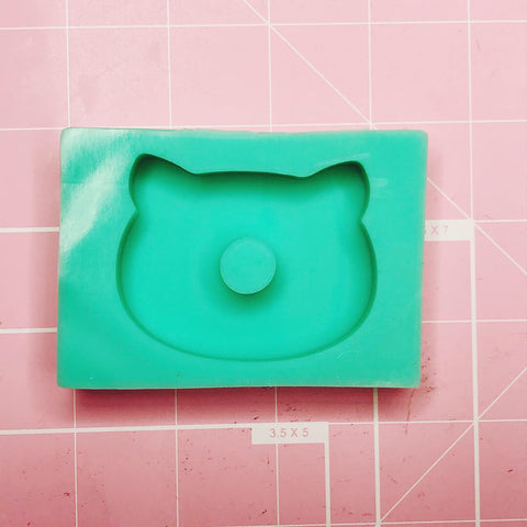 Rectangle Mold - Kitty Donut - Chala Atelier & Supplies