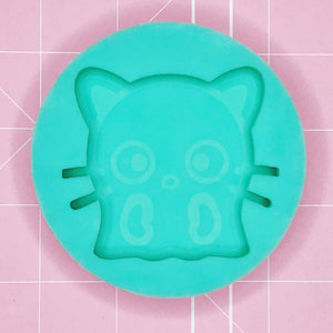 Single Cavity Mold: ChocoGhost [Etched/Solid]