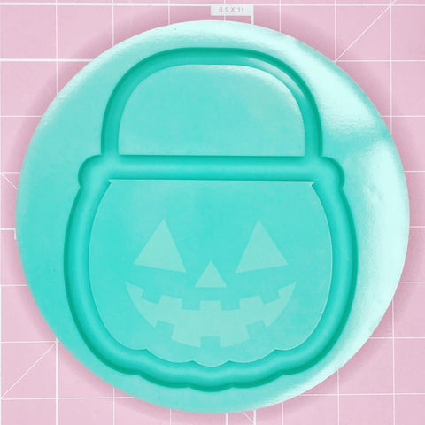 Tray Mold: Pumpkin Pail Tray