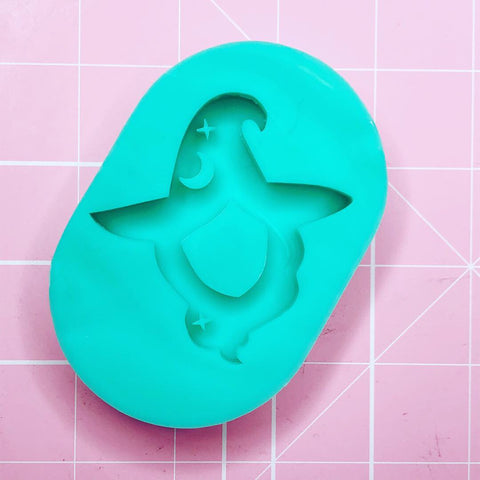 Oval Mold - Witch Head (Backed Shaker) - Chala Atelier & Supplies