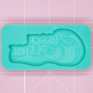 Single Cavity Mold: Beach Please [Etched / Solid]