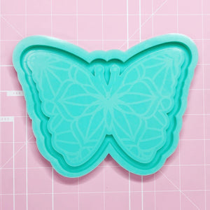 Tray Mold: Butterfly Tray [Etched / Backed]