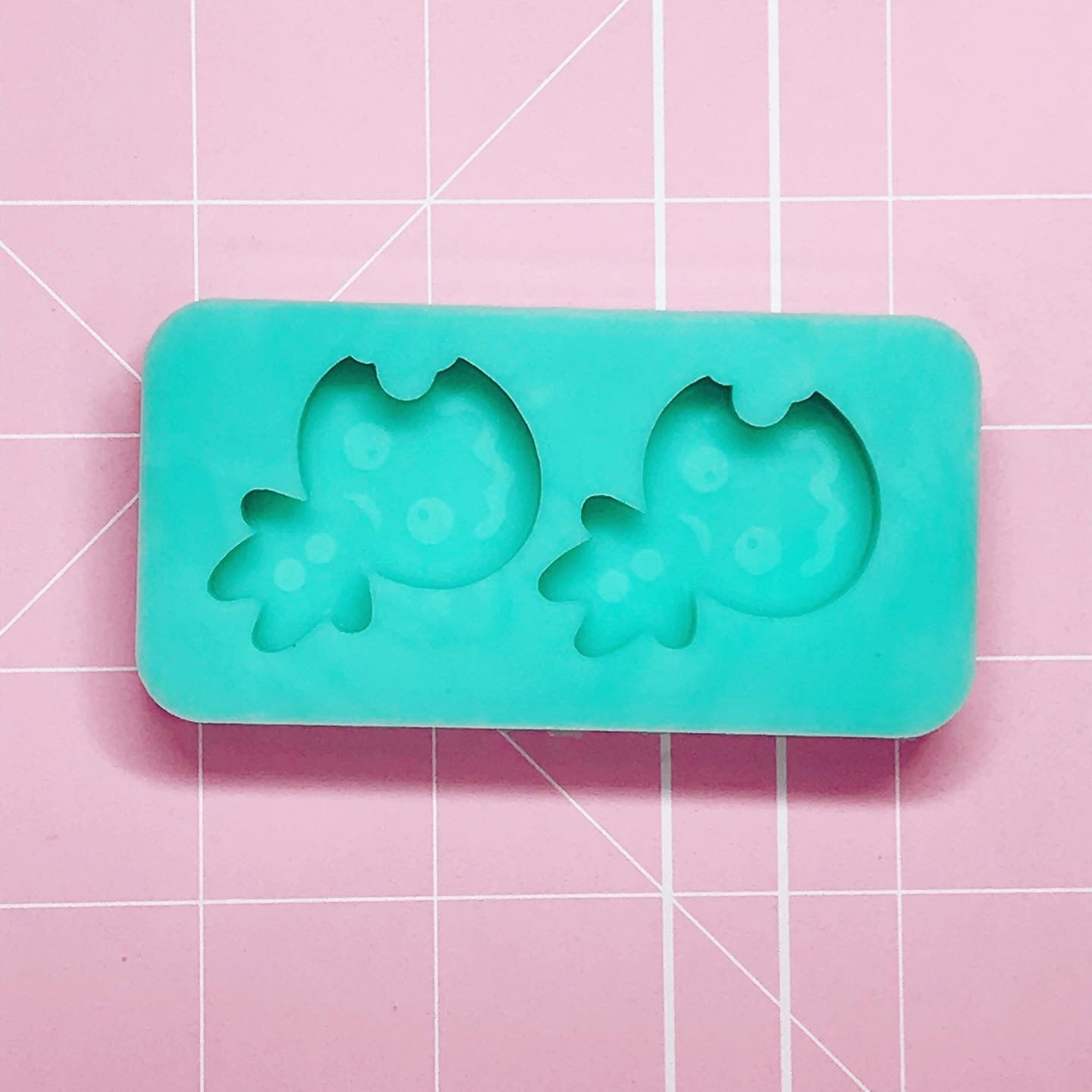 Earring Mold: Gingerbread Earrings [Etched / Solid]]