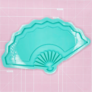 "Tray Mold: 10"" Hand Fan Tray - [Etched / Backed]"
