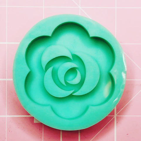 Round Mold - Rose (Backed Shaker) - Chala Atelier & Supplies