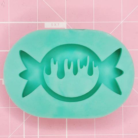 Oval Mold -  Drippy Candy (Backed Shaker) - Chala Atelier & Supplies