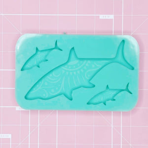 Palette Mold: Etched Sharks - [Etched / Solid]