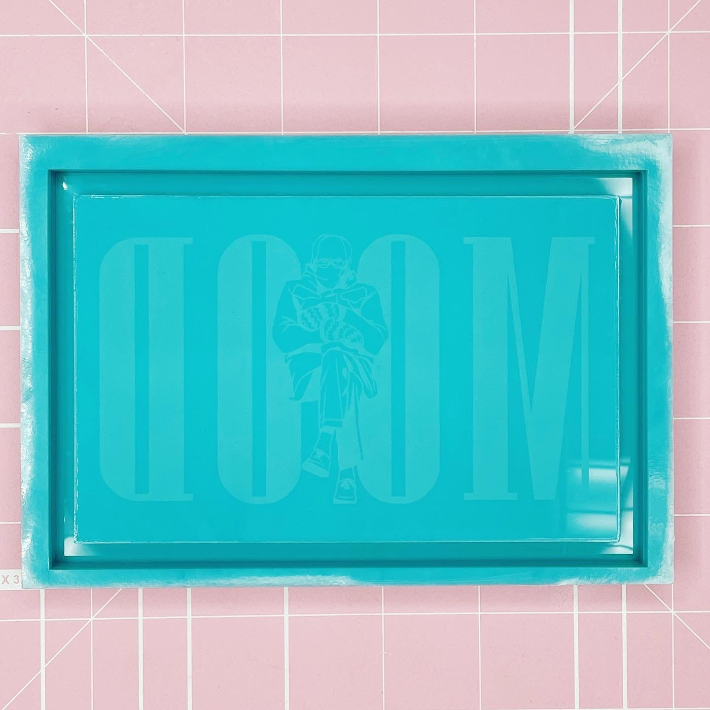Tray Mold: Bernie MOOD Tray [Etched / Solid]