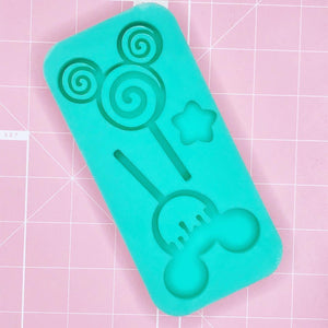 BF2020 -Palette Mold: Mickey Lollipops Duo [Backed]