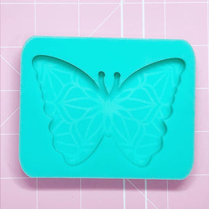 Single Cavity Mold: Butterfly [Etched / Solid]