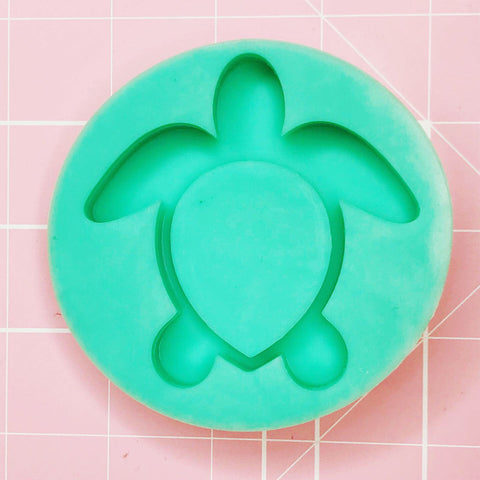 Small Mold - Turtle (Backed Shaker) - Chala Atelier & Supplies